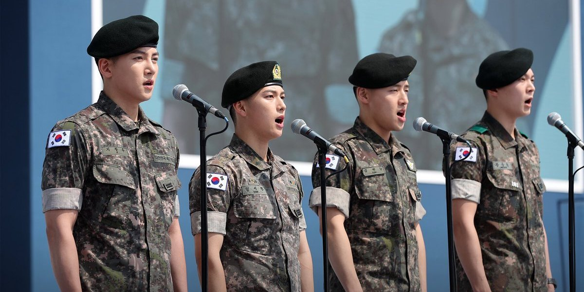 20 Korean Celebrities Who Will Return Or Join Military