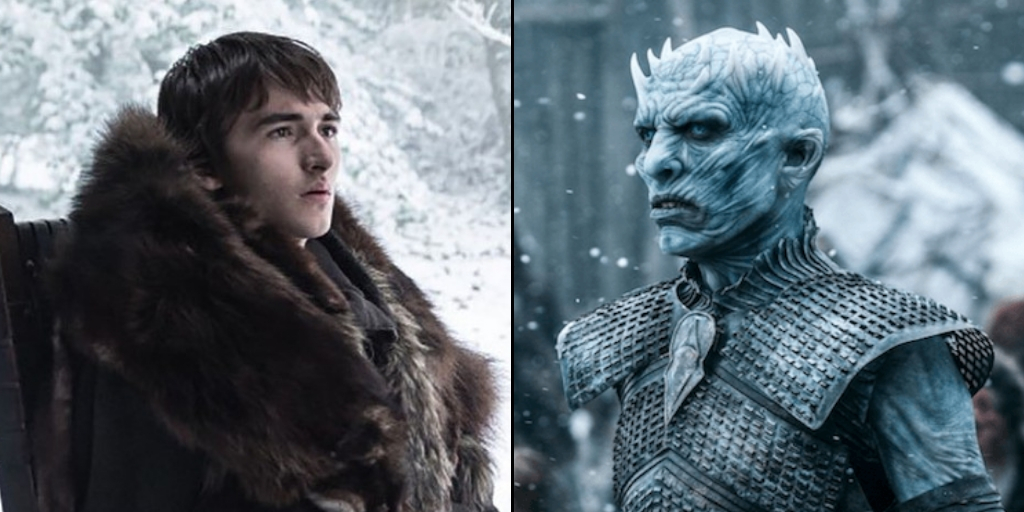 Bran And Night King - Game Of Thrones Season 8
